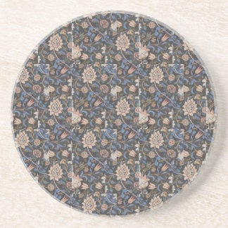 Vintage William Morris Evenlode Textile Design Coaster