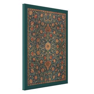 Vintage William Morris Holland Park Carpet Canvas Print