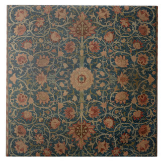 Vintage William Morris Holland Park Carpet Ceramic Tile