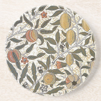 Vintage William Morris Pomegranate Coaster