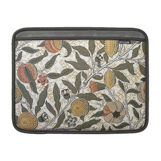 Vintage William Morris Pomegranate Sleeves For MacBook Air