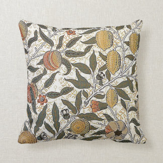 Vintage William Morris Pomegranate Throw Throw Pillow