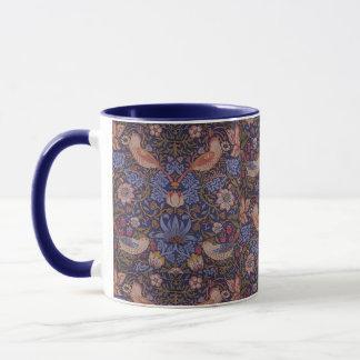 Vintage William Morris Strawberry Thief Mug