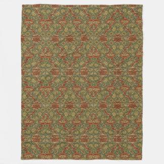 Vintage William Morris Wandle Fleece Blanket