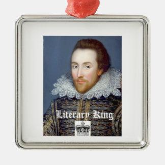 Vintage William Shakespeare Christmas Ornament