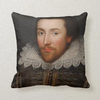 Vintage William Shakespeare Portrait Cushion