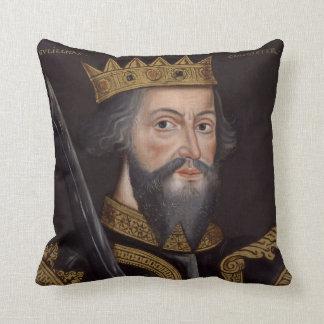 Vintage William The Conqueror Portrait Cushion