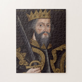 Vintage William The Conqueror Portrait Jigsaw Puzzle