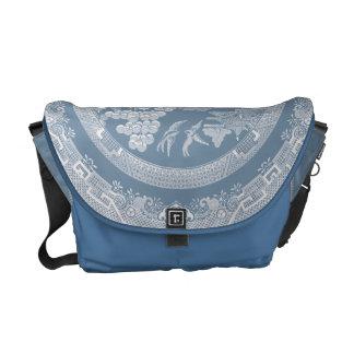 Vintage Willow Pattern Commuter Bag