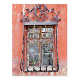 Vintage Window Grates Postcard