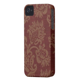 Vintage Wine Floral Blackberry-Bold-9700-9780 iPhone 4 Cover