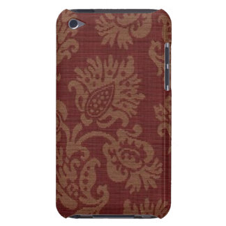 Vintage Wine Floral Case-Mate-iPod-Touch Barely There iPod Covers