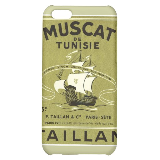 Vintage Wine Liquor Product Label iPhone 5C Cover