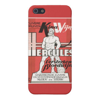 Vintage Wine Liquor Product Label iPhone 5 Cover