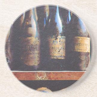 Vintage Wine Sandstone Coaster