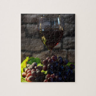 Vintage Wine Still LIfe Jigsaw Puzzle
