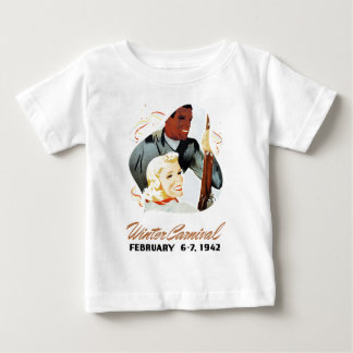 Vintage Winter Carnival Baby T-Shirt
