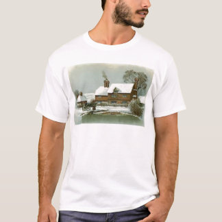 VIntage Winter Scene T-Shirt