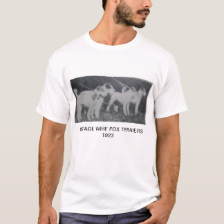 Vintage Wire Fox Terriers T-Shirt