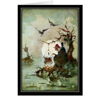 Vintage Witch by Vladimir Kirin Card