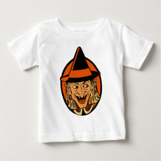Vintage Witch's Face Baby T-Shirt