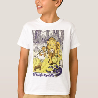 Vintage Wizard of Oz 1st Edition Print T-Shirt
