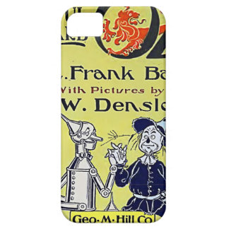 Vintage Wizard of Oz Book Cover iPhone 5 Case