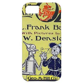 Vintage Wizard of Oz Book Cover Tough iPhone 5 Case