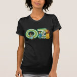 Vintage Wizard of Oz Characters and Letters T Shirts