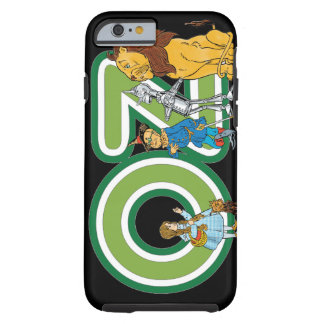 Vintage Wizard of Oz Characters and Text Letters Tough iPhone 6 Case