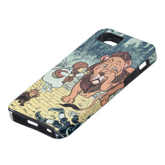Vintage Wizard of Oz Characters, Yellow Brick Road iPhone 5 Case