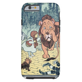 Vintage Wizard of Oz Characters Yellow Brick Road iPhone 6 Case