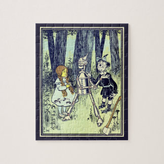 Vintage Wizard of Oz, Dorothy Meets the Tinman Jigsaw Puzzle