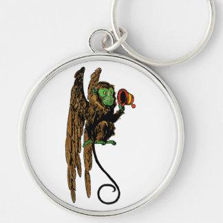 Vintage Wizard of Oz, Evil Flying Monkey Hat Key Ring