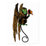 Vintage Wizard of Oz; Evil Flying Monkey Hat Post Card