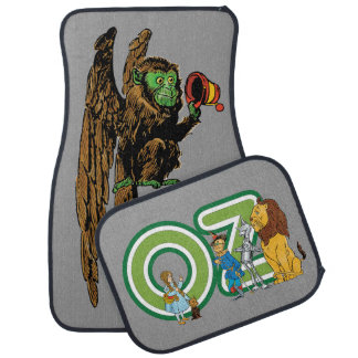 Vintage Wizard of Oz Fairy Tale Characters Denslow Car Mat