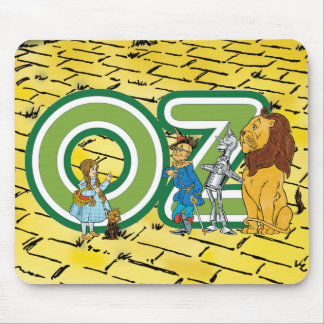 Vintage Wizard of Oz Fairy Tale Characters Denslow Mouse Pad
