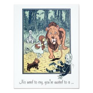 Vintage Wizard of Oz, Girl Baby Shower Invitation