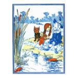 Vintage Wizard of Oz Illustration - Pond