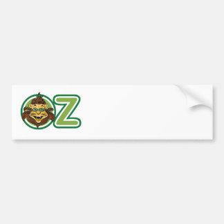 Vintage Wizard of Oz, Lion Inside Letter O Bumper Sticker