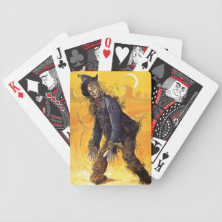 Vintage Wizard of Oz Scarecrow Bicycle Playing Cards