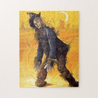 Vintage Wizard of Oz Scarecrow Jigsaw Puzzle