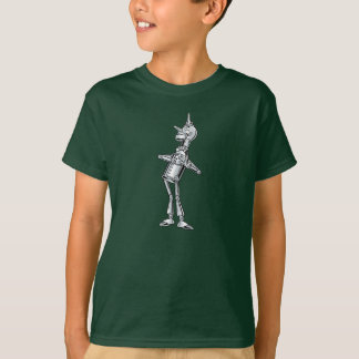 Vintage Wizard of Oz, Tinman Happy Smile has Heart T-Shirt