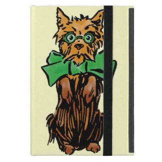 Vintage Wizard of Oz Toto Dog with Green Bow iPad Mini Cases