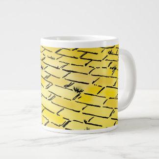 Vintage Wizard of Oz Yellow Brick Road by Denslow Jumbo Mug