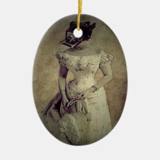 Vintage Woman Camera Art Decor Christmas Tree Ornament