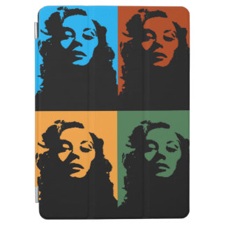 Vintage woman in color tablet ipad cover