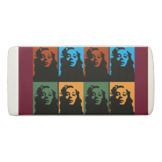 Vintage woman in color Wedge Eraser