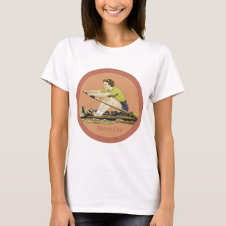 Vintage Woman Rower T-Shirt