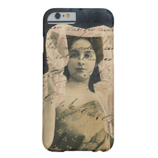 Vintage Woman with Handwriting iPhone 5 Case